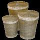 Корзины,  изделия из лозы и бамбука