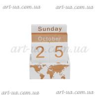 "Вечный календарь ""World map"" PR775"