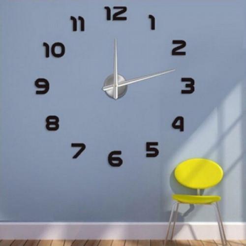 """Часы настенные 3D """"DIY"""" большие ZH211"""