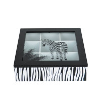 "Бокс для чая ""Zebra"" PR070"