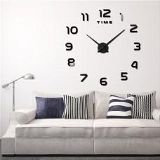 """Часы настенные 3D """"DIY"""" средние светящиеся ZH214"""