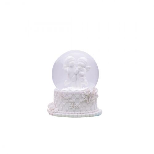 "Cнежный шар ""Ангелочки"" NG622"