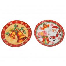 Новогодняя тарелка NG705