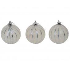 Набор новогодних шаров  из 3 шт  NG248