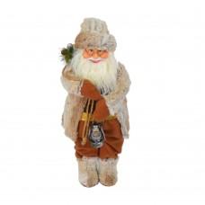 Дед Мороз с фонарем 50 см NG8503