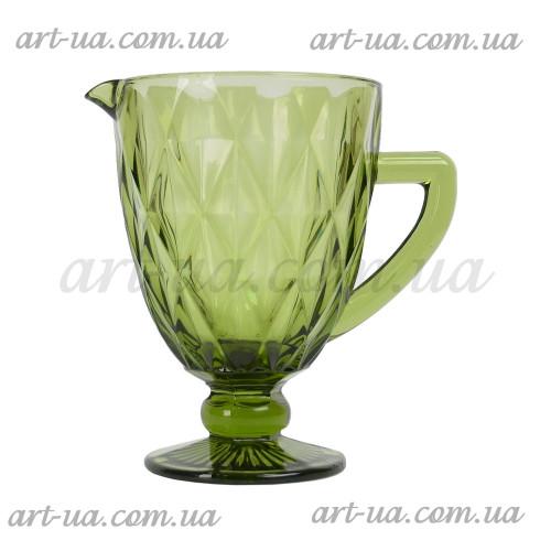 "Графин ""Rhombus"" зеленый VB215"