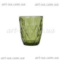"""Стакан """"Rhombus large"""" зеленый 250мл VB725"""