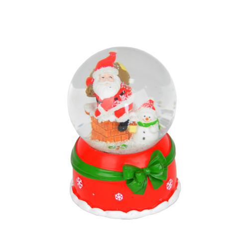 Музыкальный снежный шар NG203