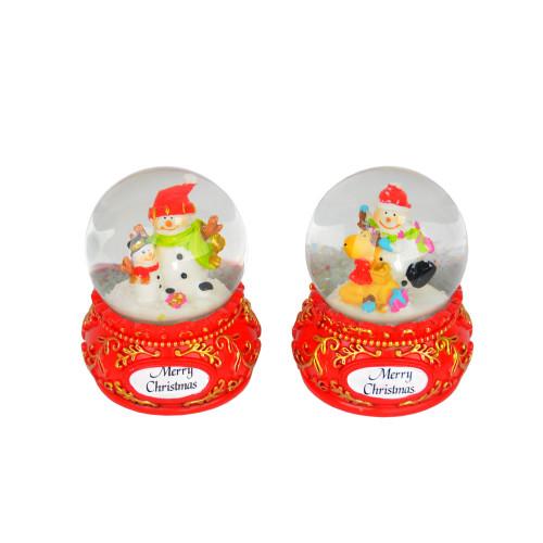 Новогодний снежный шар NG906