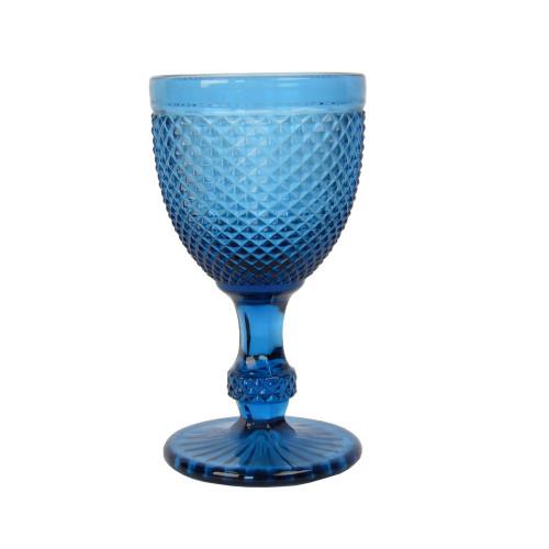 "Бокал стекло ""Versailles"" синий  VB827"