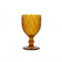 """Бокал стекло """"Luxury"""" желтый VB907"""