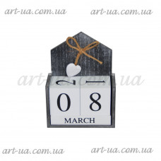 """Вечный календарь """"Сердце"""" PR335"""