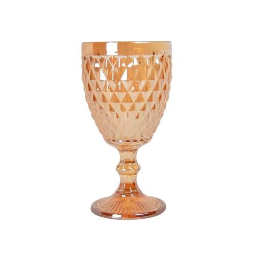 """Бокал стекло """"Rhombus small""""  золото VB853"""