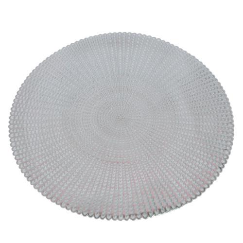 Салфетки настольные серебро X600