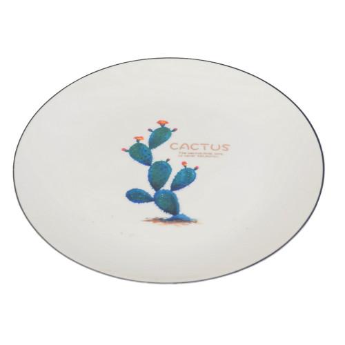 """Тарелка обеденная """"Cactus"""" 26 см TR042"""