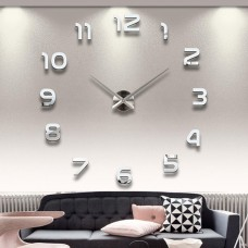 """Часы настенные 3D """"DIY"""" средние ZH210"""