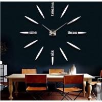 """Часы настенные 3D """"DIY"""" средние светящиеся ZH215"""