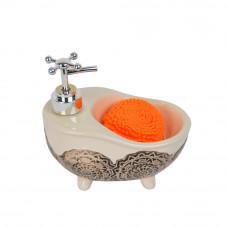 """Набор для ванной """"Bath"""" беж. YX404"""