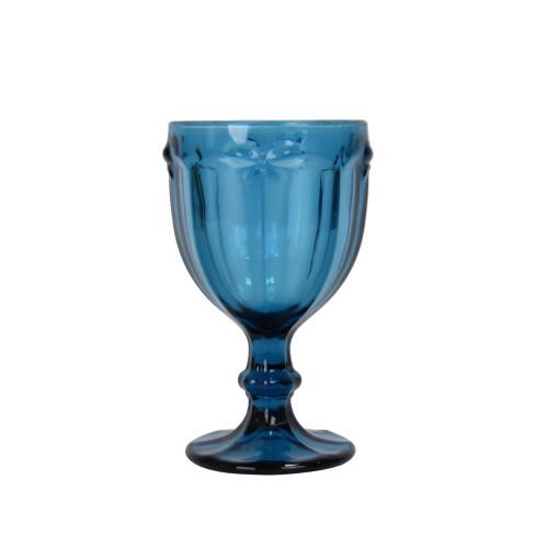"""Бокал стекло """"Butterfly"""" синий VB052"""
