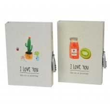 """Блокнот с кодовым замком """"I love you"""" NB105"""