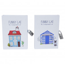 "Блокнот с кодовым замком ""Funny cat"" NB108"