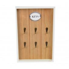 """Ключница  настенная """"Keys"""" открытая PR358"""