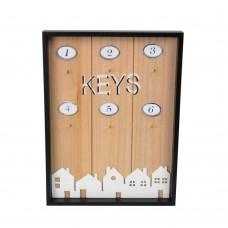 """Ключница настенная """"Houses"""" открытая PR415"""