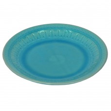 """Блюдо """"Exotic"""" голубое 3*26 см TR028"""