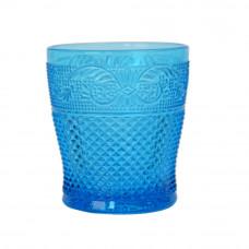 """Стакан стекло """"Elara"""" синий VB409"""