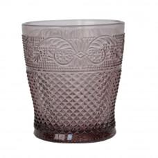"""Стакан стекло """"Elara"""" фиолетовый VB411"""