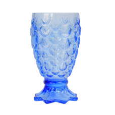 "Бокал стекло ""Anais"" синий VB412"