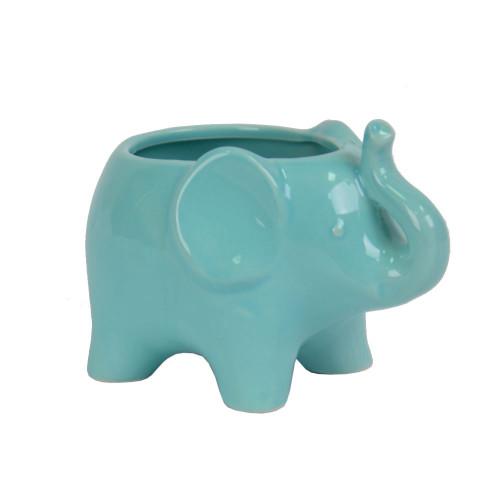 """Вазон - кашпо """"Elefant"""" синий ZG182"""