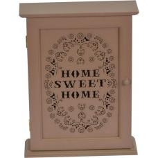 """Ключница настенная """"Sweet Home"""" коричневая PR115"""