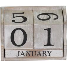 Вечный календарь серый PR371