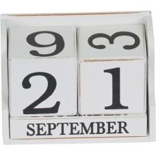 Вечный календарь белый PR373