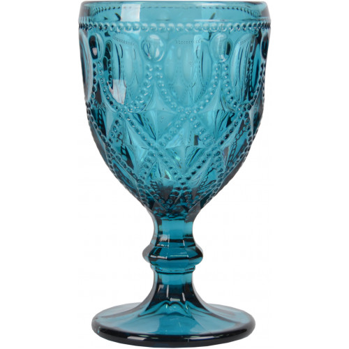 "Бокал стекло ""Luxury"" синий VB736"