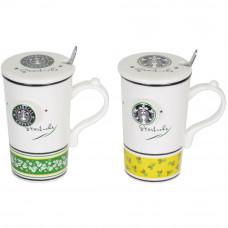 "Кружка  с ложечкой ""Starbucks"" CM831"