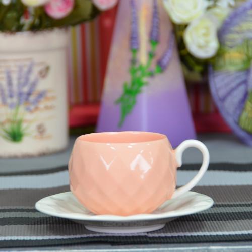 """Набор фарфоровых чашек с блюдцами """"Luxury S"""" FR228"""