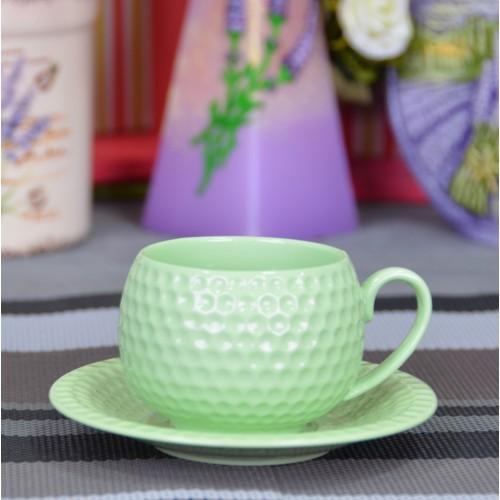 """Набор фарфоровых чашек с блюдцами """"Elegant S"""" FR229"""