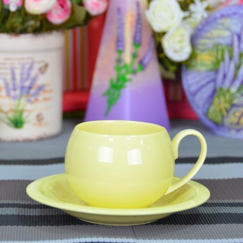 "Набор фарфоровых чашек с блюдцами ""Style"" FR230"
