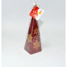 "Свеча ""Рождественская звезда"" пирамида 240мм S695"