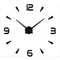 """Часы настенные 3D """"DIY"""" ZH034 БОЛЬШИЕ черные"""