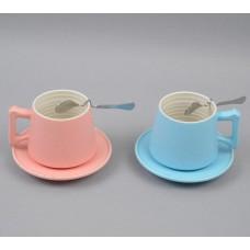 Чашка  с блюдцем CM021