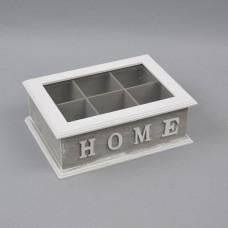 """Шкатулка для чая """"Home"""" PR118"""