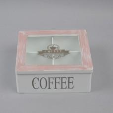 """Бокс для чая """"Coffee"""" PR45"""