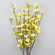 Цветы искусственные из 3 веток со светодиодной подсветкой  F2
