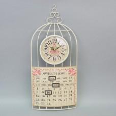 """Часы - календарь """"Sweet home"""" HT032"""