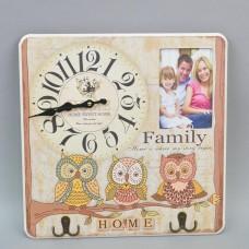 "Часы - вешалка ""Family"" HT073"