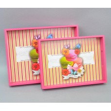 """Поднос """"Macarons"""" из 2 шт. PR4002"""