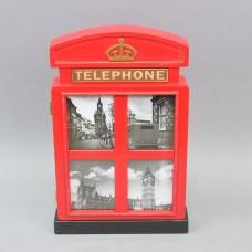 """Ключница """"Telephone"""" маленькая  KL432"""